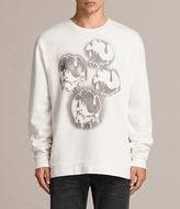 AllSaints Good Times Crew Sweatshirt