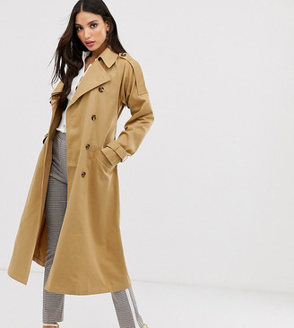 Asos DESIGN Tall longline trench coat