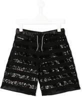 Diesel sequin embellished shorts