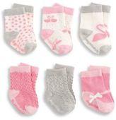 Elegant Baby Baby's Six-Piece Sock Set