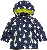 H&M Padded Jacket - Dark blue/stars - Kids