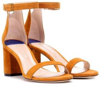 Stuart Weitzman 75LessNudist suede sandals