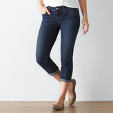 Women's SONOMA Goods for LifeTM Faded Cuffed Capri Jeans