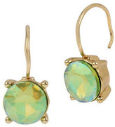 Betsey Johnson Faceted Stone Drop Earrings