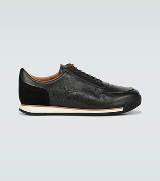 John Lobb Porth leather sneakers