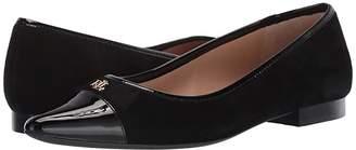 Lauren Ralph Lauren Halena (Black/Black) Women's Sling Back Shoes
