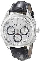 Alpina Men's AL-760SB5AQ6 Alpiner 4 Manufacture Analog Display Automatic Self Wind Black Watch