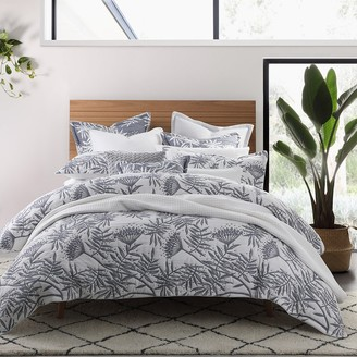 Private Collection Boronia Denim King Bed Quilt Cover Set 245 x 210cm