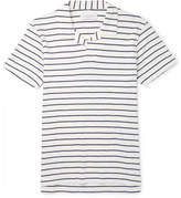 Orlebar Brown Felix Striped Cotton-Jersey Polo Shirt