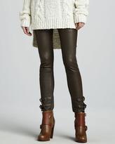 Rachel Zoe Belted Leather Pants