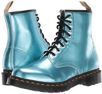 Dr. Martens 1460 Vegan (Blue/Gold Mix) Women's Shoes