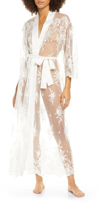 Rya Collection Darling Sheer Lace Robe