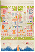Luca & co LUCA & CO TWIN HOUSES - SANTA MONICA BEACH 3D PLAY MAT