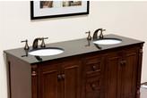"Legion Furniture 61"" Double Bathroom Vanity Top"