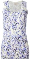 Giambattista Valli floral print knit top
