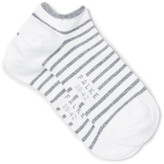 Falke - Striped Cotton-blend No-show Socks