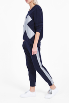 Norma Kamali Striped Jogging Trousers