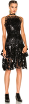 Rodarte Sequin Two Tier Dress
