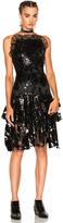 Rodarte Sequin Two Tier Dress