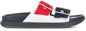 Tommy Hilfiger Double Buckle Fastened Sandals