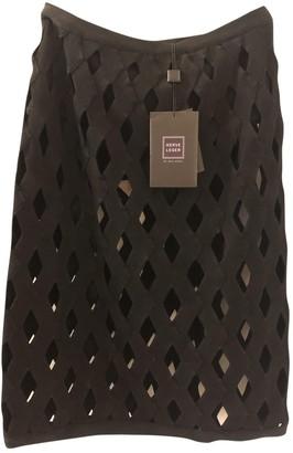 Herve Leger Black Skirt for Women