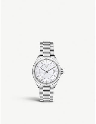 Tag Heuer WBJ1319BA0666 Formula 1 stainless steel and mother-of-pearl watch