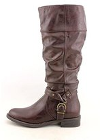White Mountain Lefty Womens Size 8.5 Faux Leather Fashion Knee-high Boots