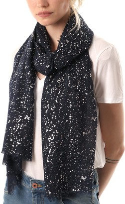 Style Slice Evening Star Sparkle Scarves | for Women | Lightweight Shawl | Wedding Foil Print Scarf Wrap | Stars and Moons | Birthday gifts for her | Present for mum | Mothers Day | Prime