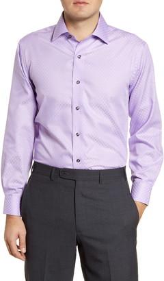 Lorenzo Uomo Trim Fit Non-Iron Dress Shirt