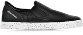 Hogan R141 Black Leather Slip On Sneaker