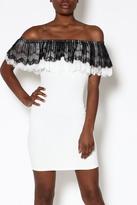 Valentine Off-Shoulder Lace Dress