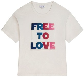 Claudie Pierlot Free To Love T-Shirt