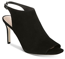Via Spiga Women's Terese Peep-Toe Booties