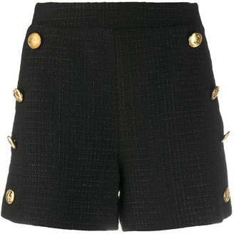 Boutique Moschino High-Waisted Shorts