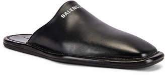 Balenciaga Carrea Lux Loafer in Black & White | FWRD
