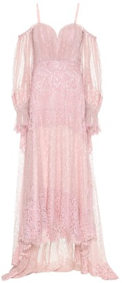 Jonathan Simkhai Exclusive to Mytheresa Floral-lace maxi dress