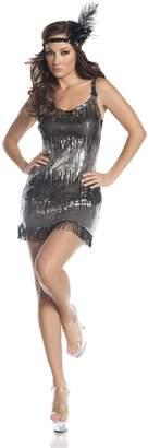 Mystery House Burlesque Flapper Dress
