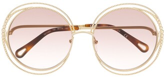 Chloé Carlina Chain sunglasses