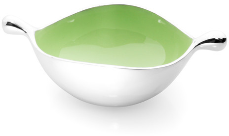Lunares Oyster Bowl Small Green