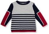 Le Top Stripe Sweater (Toddler Boys)