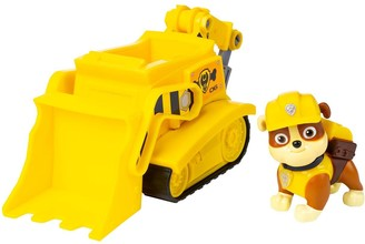 Paw Patrol Bulldozer Vehicle with Rubble Figure