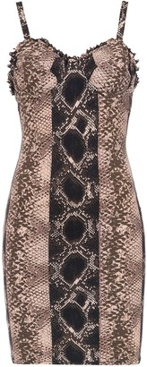 AMIR SLAMA Printed Shift Dress