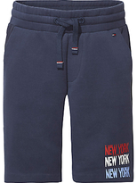 Tommy Hilfiger Boys' Double Face Sweat Shorts, Navy