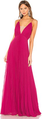 Jill by Jill Stuart Pleated Gown