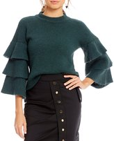 Gianni Bini Fan Fav Lola Tiered Sweater