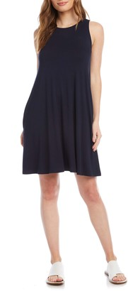 Karen Kane Chloe Sleeveless Stretch Jersey Swing Dress