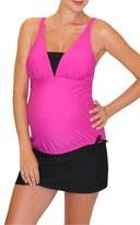 Women's Mermaid Maternity Tankini Top