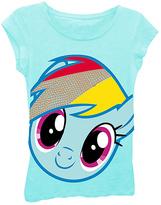 Freeze My Little Pony Rainbow Dash Face Tee - Girls