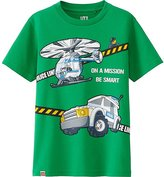 Uniqlo Boys LEGO(R) City Graphic Tee