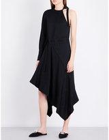 Proenza Schouler One-shouldered Woven Dress